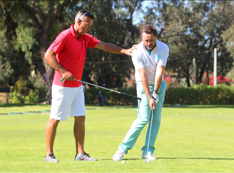 correction golf