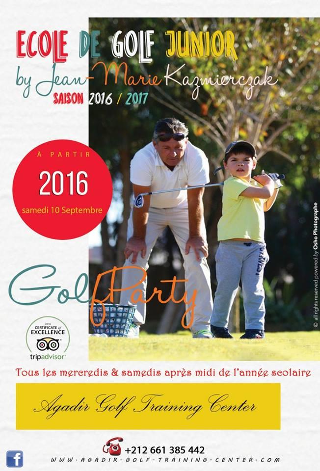 Ecole de golf Agadir Maroc