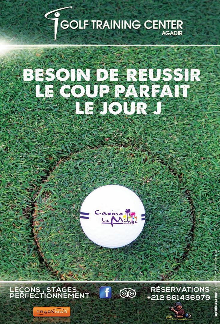 Initiation au golf à Agadir Golf Training Center Maroc