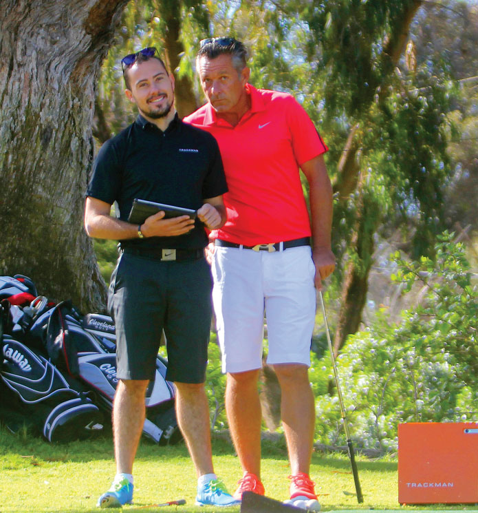 trackman golf agadir Maroc initiation