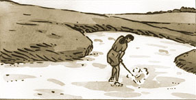 bunkers de golf