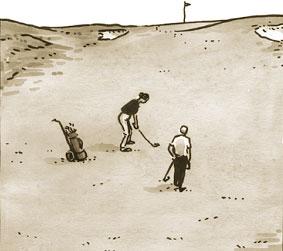fairway de golf