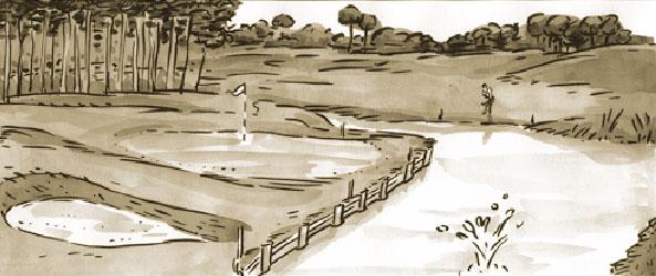 lake de golf